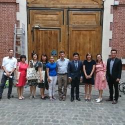Visite d'une délégation du ministère de la justice vietnamien