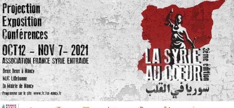 LA SYRIE AU COEUR 3ème édition