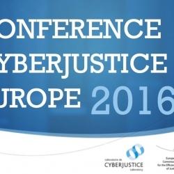 Vidéos de la 1ère Conférence Cyberjustice Europe 2016