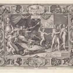Allégories de Justice Le décor de la Grande Chambre du Parlement de Flandre