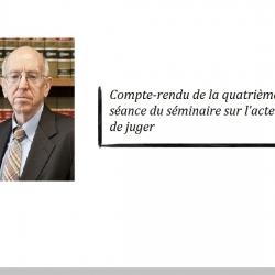 L'approche économique de la décision de justice du juge Richard A. Posner