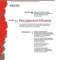 Les cahiers de la justice « des juges sous influence »