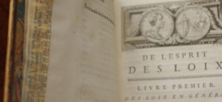 Céline Spector : de la corruption en démocratie après Montesquieu