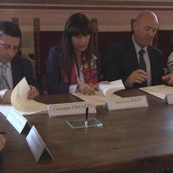 Vidéos du partenariat des tribunaux de Florence et de Grasse