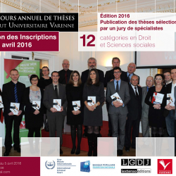 Concours de thèse de l'Institut Universitaire Varenne